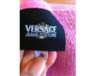 Versace~1993~Jeans couture Pink Top