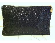 Artist Clutch Bag(Black/Gold)