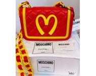New~Moschino/Jeremy Scott MCapsule McDonald's Quilted Bag