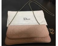 Christian Dior Pink Leather Ch...