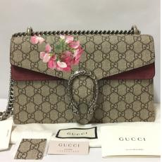 Gucci Dionysus Medium Blooms Print Bag