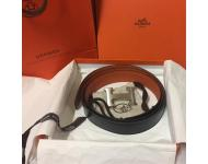 Reserved~Hermes Men's 100cm'H'Buckle Constance Reversible Belt